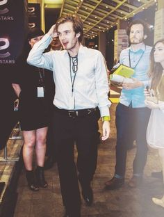Felix Kjellberg (PewDiePie) I don't care what anyone says, this guy is cute <3