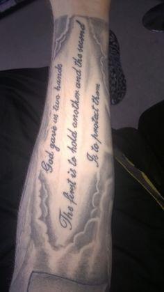 #religious #tattoo #sleeve #halfsleeve #black #grey #blackandgrey  Had a religious sleeve done by Lee Beamish of Zombie Monkey Tattoo