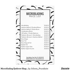 Microblading Eyebrow Shape Tattoo Price List Flyer Best Picture For Microblading step by step For Yo Eyelash Tinting, Eyebrow Tinting, Eyebrow Makeup, Form Tattoo, Shape Tattoo, Tattoo Art, Microblading Eyebrows After Care, Eyeliner, Eye Brows