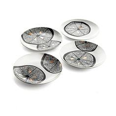 Michael Aram Lemonwood plates