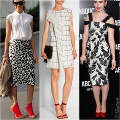 4fc64f02f283 What Color Shoes to Wear with Black and White Dress