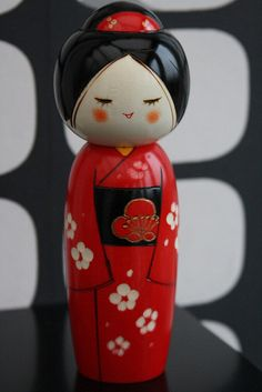 My latest Kokeshi | Flickr - Photo Sharing!