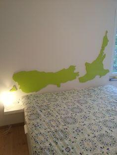Neuseeland Bett Kopfteil Fertig