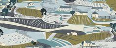 Landscapes: cotton poplin £12 a metre