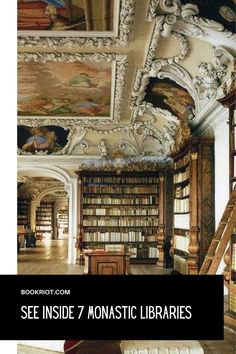 Dreamy spaces to explore.   libraries | monastic libraries | global libraries