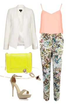 Miss High Street - High Street's Hottest - Floral trousers