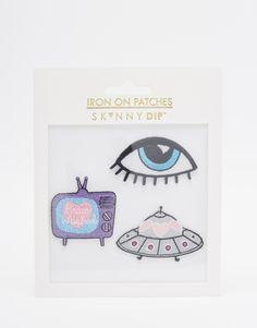 Skinnydip+Eye+Iron+On+Patches+(3pk)