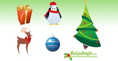Free Vector Christmas Objects