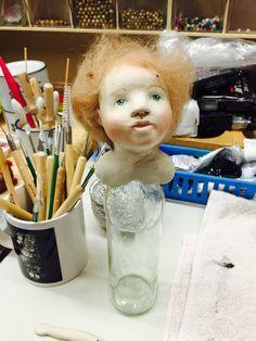 Art doll WIP andyandmolly