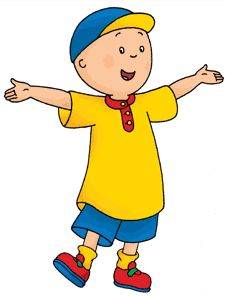 Little Ones Cailou On Pinterest Caillou Coloring And Pbs Kids