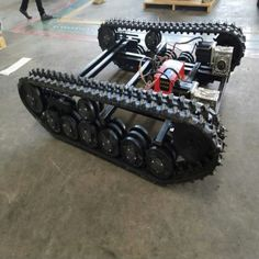 Machinery,Type:Crawler,Material:Rubber and Steel Rc Track, Military Robot, Homemade Tractor, Mobile Robot, Electronic Circuit Projects, Rc Cars And Trucks, Chenille, Car Wheels, Go Kart