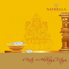 #‎Nathella‬ ‪#‎Facts‬ ‪#‎AkshayaTritiya‬  It has been stated in an ancient Sanskrit Holy text Madanratna that Lord Krishna narrated the importance of this day to Yudhishthir. He said that the offerings made and the oblations offered in the sacrificial fire on this day never go in vain.   Hence buying #Gold on this day is regarded very auspicious. Visit any Nathella Jewellery​ outlets and make this day a special one.