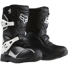 FOX COMP 5K KIDS MX/OFFROAD BOOT BLACK 13 | Motorcycle Boots SuperStore