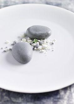 Chef RONNY EMBORG Colour Design Art Photography Black White Food Color gourmet noir blanc