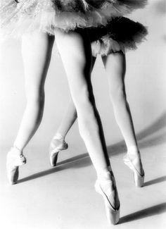 ballerina pointe