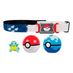 Cinto Pokémon Clip N' Carry com Pokébola + Squirtle Pokemon Charmander, Pikachu, Tomy Toys, Action, Carry On, Sunnies, Skateboard, Geek Stuff, Ben 10