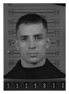 Kerouac. Mug shot. On the Road next.