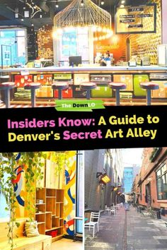 Things to do in Denver: The Dairy Block is Denver, Colorado's secret art alley, a microdistrict hidden in the heart of downtown with murals, a food hall, boutique shops, restaurants, and hotel designed perfectly for Instagram photos, fun and attractions. #thingstodoindenver #wheretoeatindenver #denvermustdo #denver