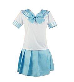 Nuoqi® Girl's Sweet Short Sleeve Light blue Sailor Lo... https://www.amazon.co.uk/dp/B011DPUM1W/ref=cm_sw_r_pi_dp_HxtmxbY747RQR