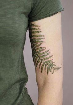 Cindy Vanschie fern tattoo #MyFavoriteTattoos #TattooIdeasForearm
