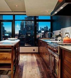 #Cozinha com vista #Repost @myhouseidea (@get_repost)
