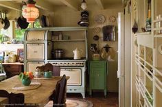 Vintage Mint Kitchen