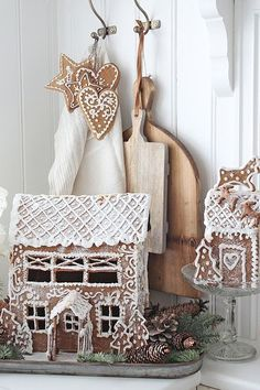 Vibeke design gingerbread Christmas home decor winter fun for the holidays Norwegian Christmas, Noel Christmas, Merry Little Christmas, Scandinavian Christmas, Winter Christmas, All Things Christmas, Xmas, Christmas Tables, Thanksgiving Holiday