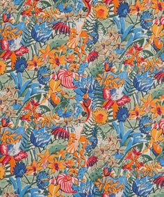 Diane Liberty fabric is a welcome new addition to the classic Tana Lawn family; this version is a fresh take on a design that dates back to 1949