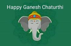 Happy Ganesh Chaturthi, Ganesha, Festivals, Fictional Characters, Ganesh, Concerts, Fantasy Characters, Festival Party