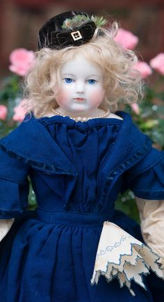 Very Rare Antique Original Huret Doll Handkerchief Accessory in the from respectfulbear on Ruby Lane