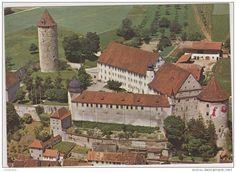 JU Jura - SUISSE,HELVETIA,SWISS,SWITZERLAND,SVIZZERA,SCHWEIZ ,JURA,PORRENTRUY,IL Y A 50 ANS,AJOIE,chateau