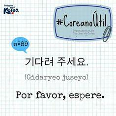 Learn Korean | porfavor espera: please wait