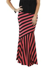 Pieced Maxi Skirt from Wet Seal