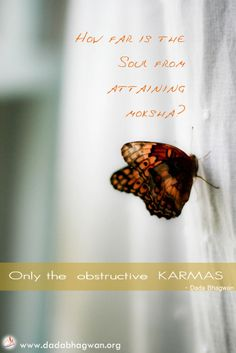 Obstructive karmas keep us from realizing the pure sould within us. Know more on : http://www.dadabhagwan.org/scientific-solutions/spiritual-science/the-science-of-karma/good-and-bad-karma-only-in-human-life/