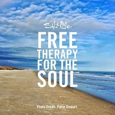 Free therapy for the soul #LiveTheSaltLife