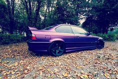 Well this is definitely a unique color. BMW E36 M3