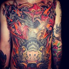 Tattoo by Derek Noble