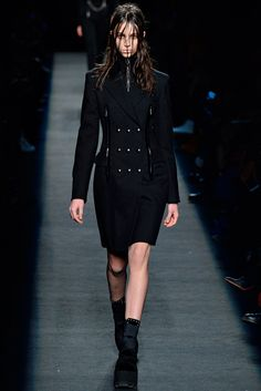 Larissa Marchiori, Alexander Wang, Fall 2015 Ready-to-Wear