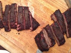 Kansas City Barbecued Spare Ribs #SundaySupper Man Food, Food N, Food And Drink, Smoker Recipes, Rib Recipes, Create A Recipe, Sunday Suppers, Spare Ribs, Bbq Grill