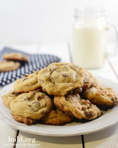 Chocolate Chip Pudding Cookies - the best cookies ever