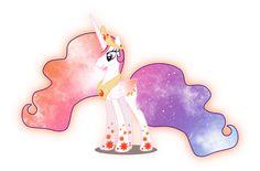 Galaxy Rainbow Power Celestia by DigitBrony on DeviantArt