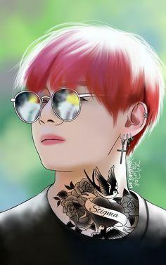 Taehyung BTS Fanart byBiaLobo #v #kim #taehyung #kimtaehyung #bts #btswings #wings #bangtan #boys #kpop #tattoo #bangtanboys #btsfanart #korean #koreanfanarts #fanart #design #draw #drawings #drawing #digital #art #artwork #wallpaper #wallpaperiphone #artist #digitalart #digitalartwork #deviantart #skecthbook