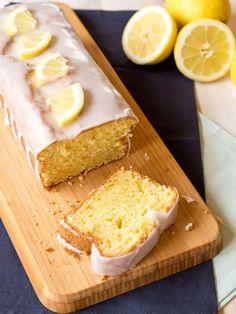 Zitronenkuchen mit Frischkäse