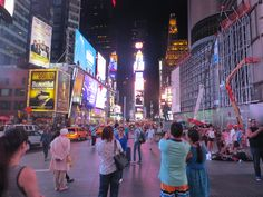 Welcome to Time Square
