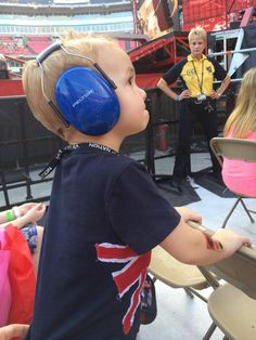 The little boy who the boys brought on stage in Nashville