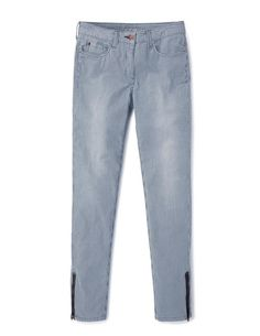 Zip Ankle Skimmer Jeans WC145 Jeans at Boden