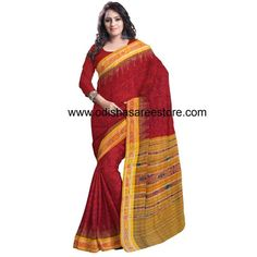 Buy OSS7428: Cotton handloom saree of odisha online, which you can buy from USA, Canada, Russia, Japan