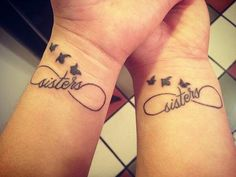 65 Matching Sister Tattoo Designs To Get Your Feelings Inked ...