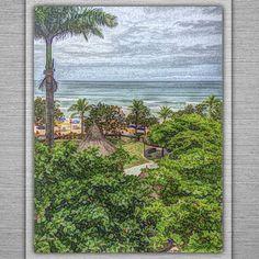 """SylokAir Art — """"Toninhas Beach, Ubatuba, SP, BR""""-1, by Sylok.==="""