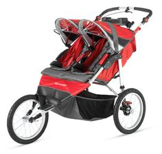 Best Double Jogging Strollers On The Market Including Fixed And Convertible Front Wheel Models Baby